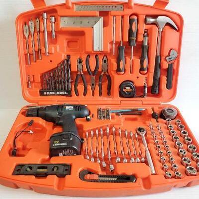 5046 Black & Decker Tool Set Black & Decker Tool Set