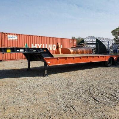 40' Trail- Eze 5th Wheel Low Load Angle Hydraulic Tail Trailer SEE VIDEO!!!! Model No: RS35H42 Serial No: 1DA72D111EM007363 Lower Deck...