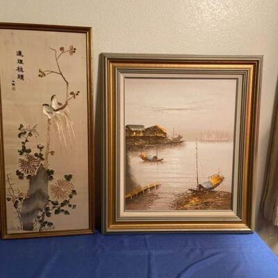Asian Inspired Art Lot 3