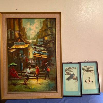 Asian Inspired Art Lot 2