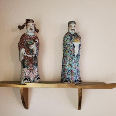 3 Asian Men with Shelves