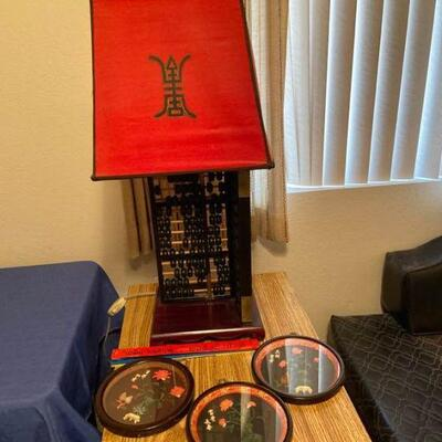 Abacus Lamp Lot