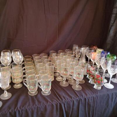 Christmas Glasses and More