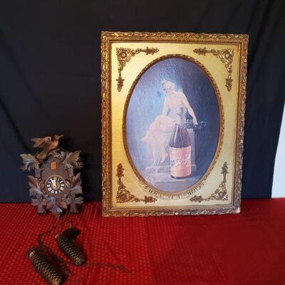 Picture and Cuckoo Clock