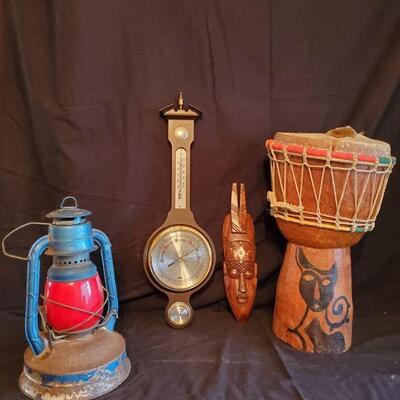 Lantern and Temp Gauge