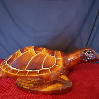 Large Ceramic Sea Turtle