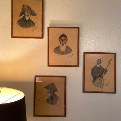 Asian Inspired Art Lot 1