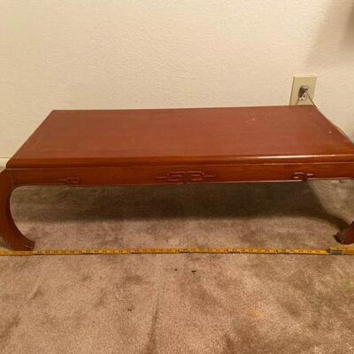 Asian Inspired Coffee Table