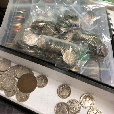 LAR9002 Buffalo and War Nickels $1 each