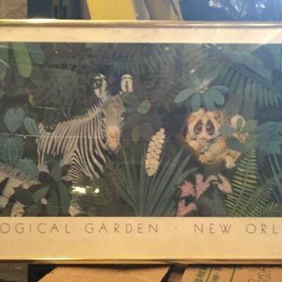 https://www.ebay.com/itm/114447505409LAR0019 Audubon Zoological Garden New Orleans Louisiana - Metal Framed Some Crea25Buy-It-Now