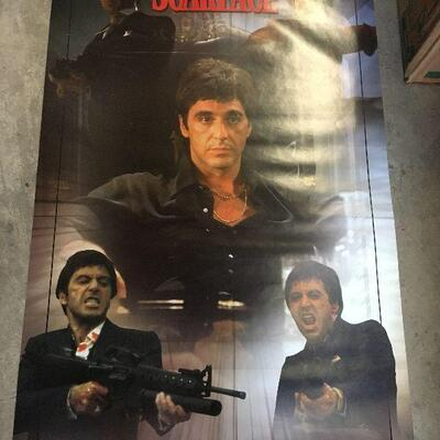 LAR0029 Scarface, Pictures him in Five Poses Scropio #1017 Pickup Only ( 22