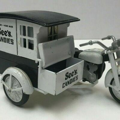 https://www.ebay.com/itm/124367466522WL160 See's Old Time Home Made Candies Motorcycle and Side Cart Toy Memorabilia20Buy-It-Now