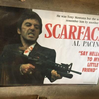 LAR0028 Tony Montana As Scarface Al Pacino