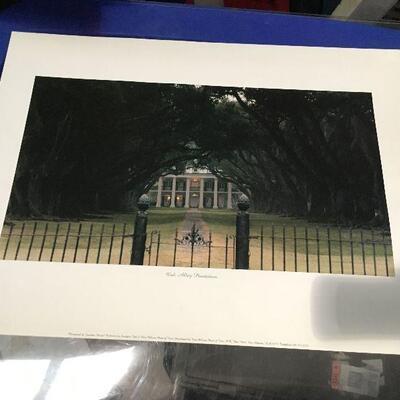 https://www.ebay.com/itm/124368348600LAR0048 Oak Alley Plantation by Johnathan Sharpe Print ( 24