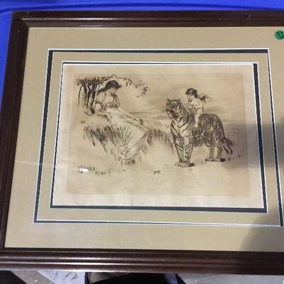 https://www.ebay.com/itm/124368513668LAR0054 Plate Drawing  F.S. Church Framed Pickup Only ( 21.75