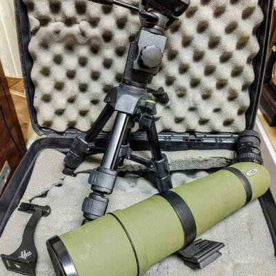 #81 SPOTTING SCOPE  Meopta Angled Spotting Scope with Case Very Good Condition $600.00 PHOTO 1 OF 2