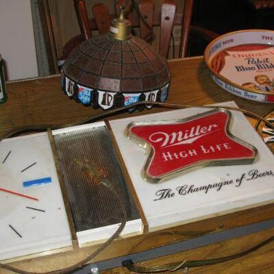 Miller High Life clock beer sign  BUY IT NOW $ 85.00