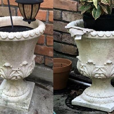 https://www.ebay.com/itm/114454906067TL0029 Urn Flower Pots on Pedestal 2 Pickup OnlyBuy-It-Now $199.99