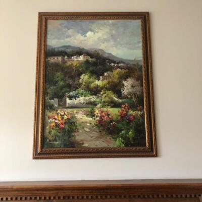 Oil painting 295.00