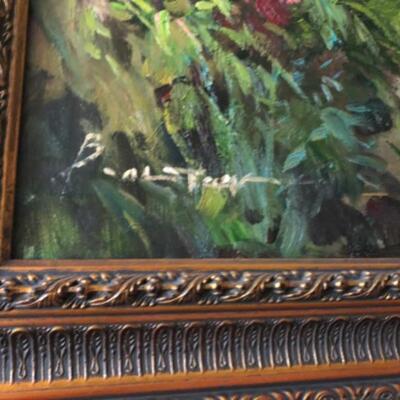 Signature on painting