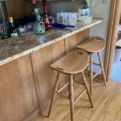 Pair of comfy stools