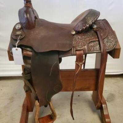 247  Circle Y Brand Western Saddle 16