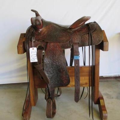 206  Ranch Western Saddle Ranch Western Saddle15 1/2