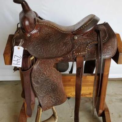 244  Cowboy Roping Saddle 16
