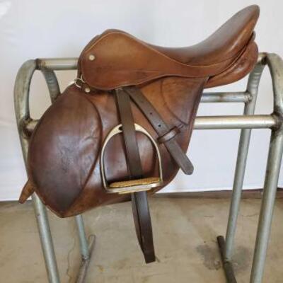 190  E. Jeffries Sadderlery English Saddle 16