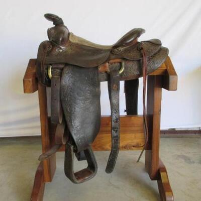 208  Vintage Ranch Western Saddle Vintage Ranch Western Saddle 15