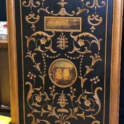 https://www.ebay.com/itm/124408691059KG4006 Large Multi Media Embosomed Frame Hanging Wall Art Pickup Only Auction