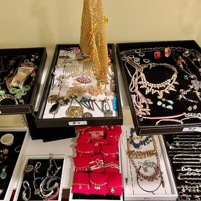 Costume Jewelry from: $5- $20