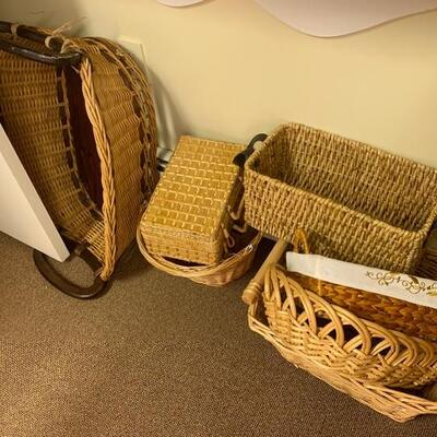 Quality Woven  Baskets Galore