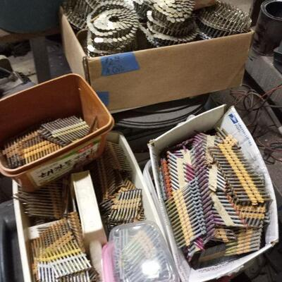thousands upon thousands of Nails, screws, Nuts and bolts!