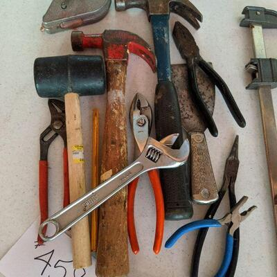 #458 Tool set #3 includes a starter tool set with Hammers, wrenches and more $25