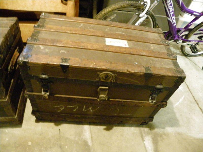 """"""" Vintage Steamship chest with compartments."""" """"1920's"""""""