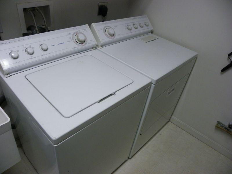 """Whirl pool washer and dryer""""."""
