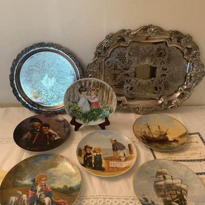 Collectible Fine China Plates