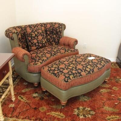 Pearson Chair with ottoman  has leather (there are 2 sofas that matches ) $450 for chair and ottoman