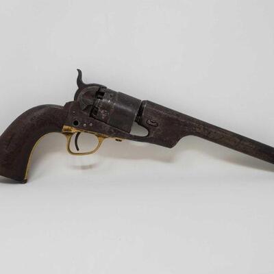 135  Colt Revolver Serial Number: 21533 Barrel Length: 8