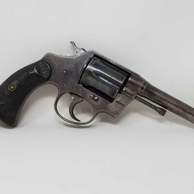 120  Colt Police Positive .38 Special Revolver Serial Number: 135753 Barrel Length: 4