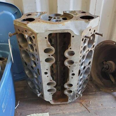 66  V8 Engine Block V8 Engine Block