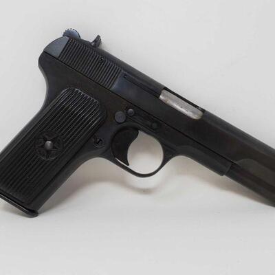 100  Cugir TT-C 7.62×25 Semi-Auto Pistol Serial Number: ZY325 Barrel Length: 4.5