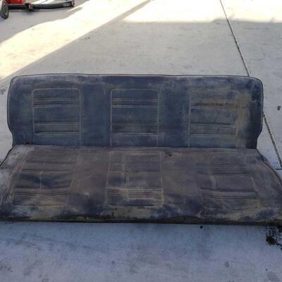 7010  Volkswagen Bus Bench Seat Volkswagen Bus Bench Seat 63