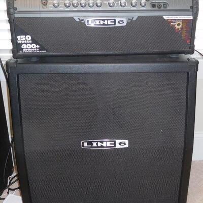 Line Amp and Speaker