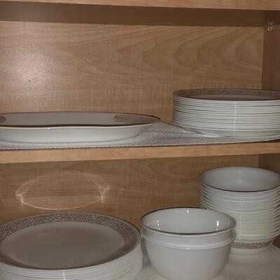 Correl  dishes, bowls