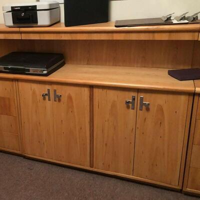 https://www.ebay.com/itm/114521008514HYH018 Jack Cartwright Thomasville Founders Blonde Low 4 Door Cabinet / Shelf Pi Auction  Ebay
