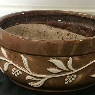 https://www.ebay.com/itm/114521053870KG099 CERAMIC PLANT POT BROWN AND WHITE Auction  Ebay