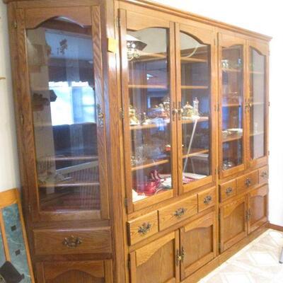 3 piece cabinet.