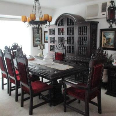 SPANISH STYLE DINING ROOM SUITE